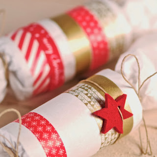 déco feutre Noél, Christmas crackers, idées handmade