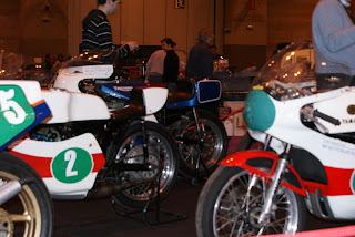 Impecable el estado de estas Yamaha de los 70: se olía el aceite de ricino a distancia!