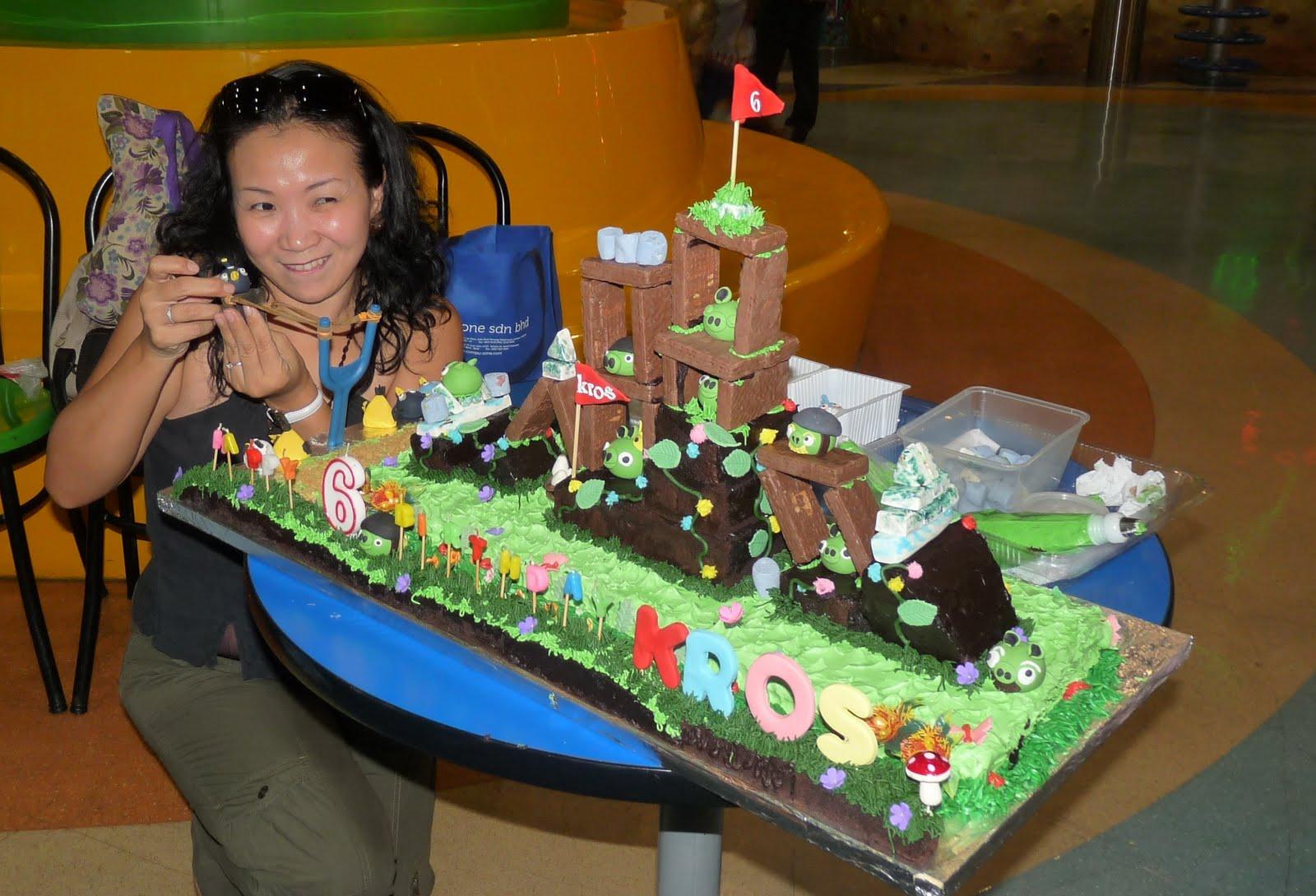 Cake Decor Ltd Company Check : Heavenly Cake Creations: Angry Birds Cake