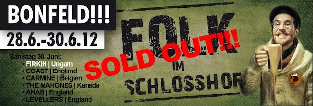 FIRKIN - Volk im Schlosshof - SOLD OUT!