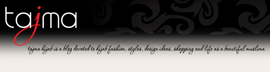 tajma hijab style