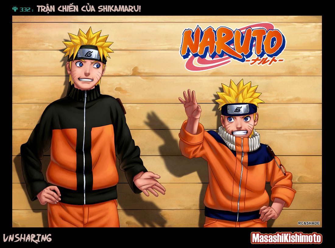 Naruto chap 332 Trang 1 - Mangak.info