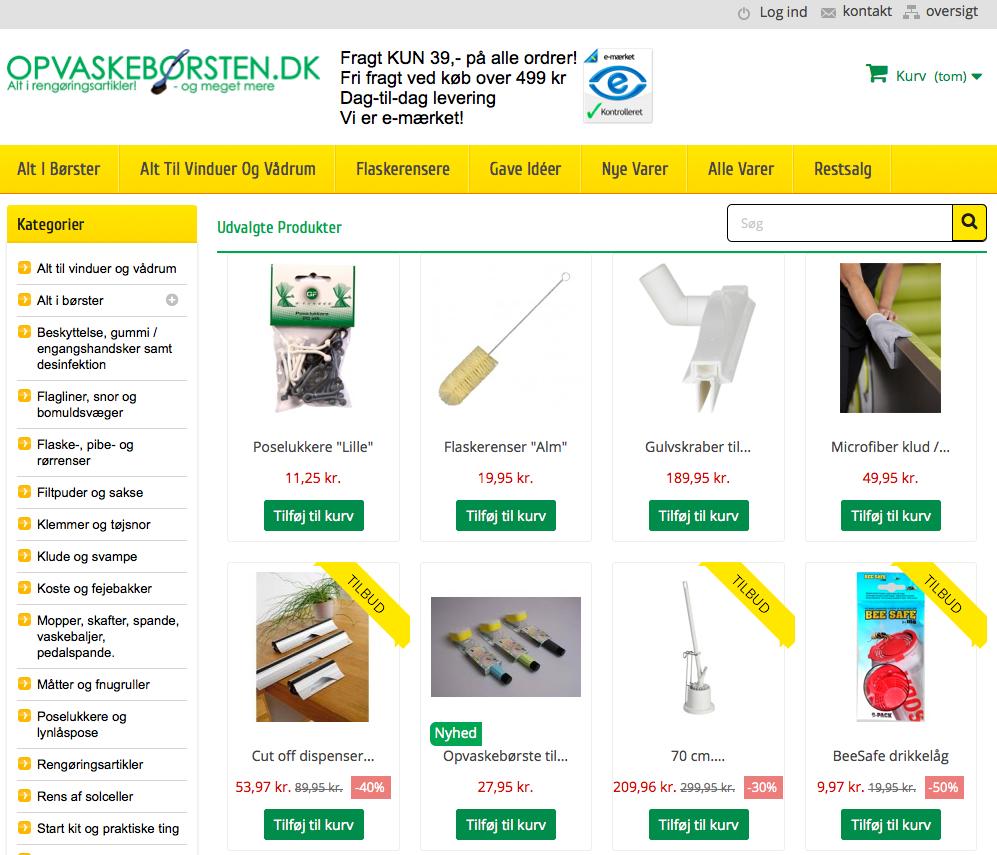 www.opvaskebørsten.dk