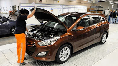 Hyundai Starts I30 Tourer Production