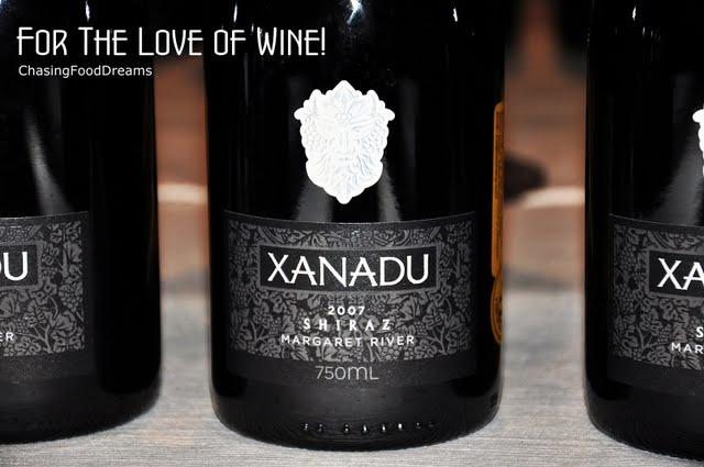 Xanadu Winery Restaurant Menu