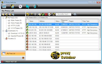 Proxy Switcher Pro 6 Full Version