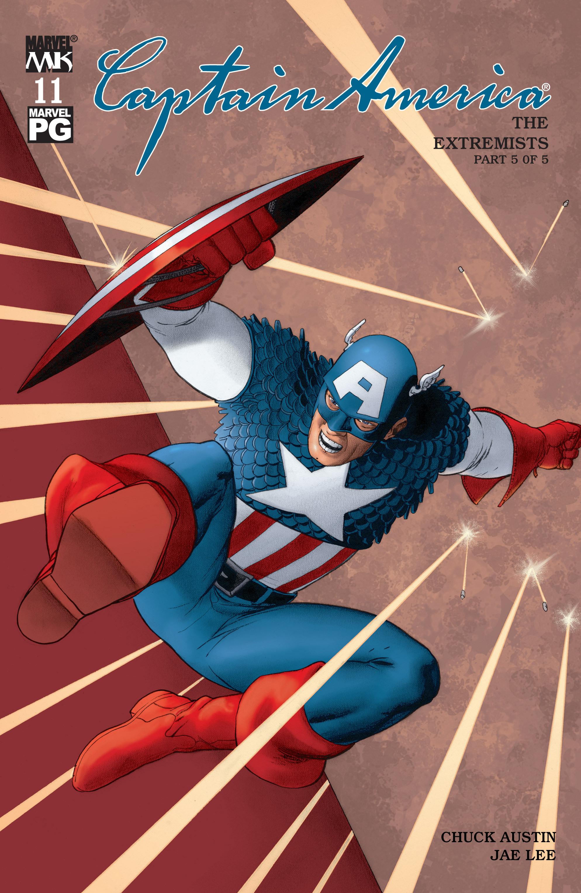 Captain America (2002) Issue #11 #12 - English 1