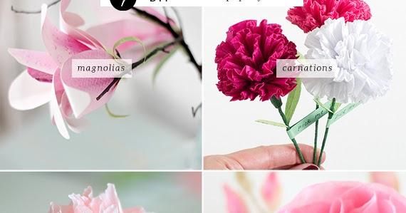 Diy realistic paper flowers my paradissi mightylinksfo