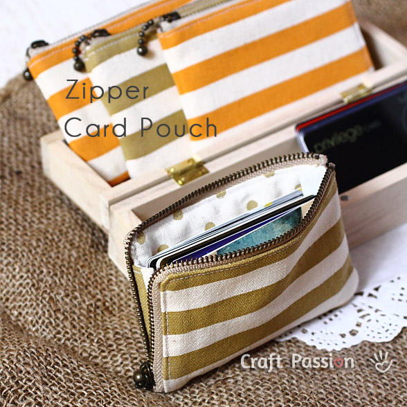 card holder sewing tutorial
