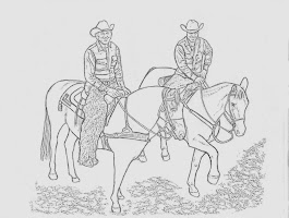 Home On The Range Coloring Page