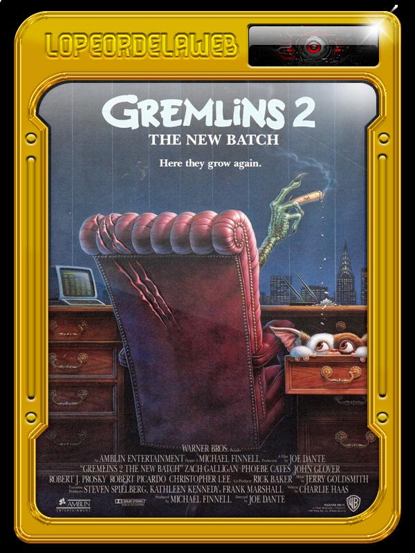 Bilogía: Gremlins BrRip-720p-Dual-Mega