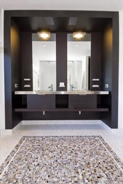 To da loos which looks better floor to ceiling mirrors for Bathroom floor mirror