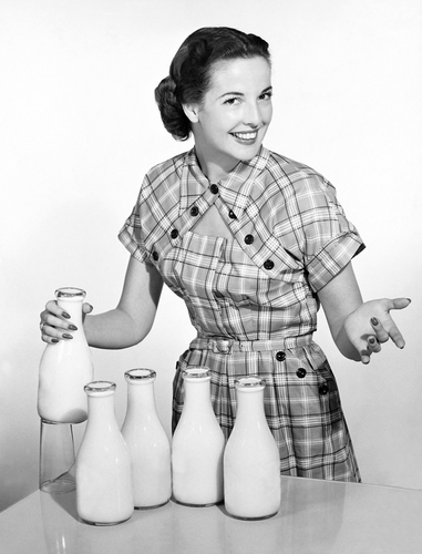 milk housewife