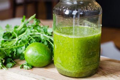 cilantro-lime salad dressing