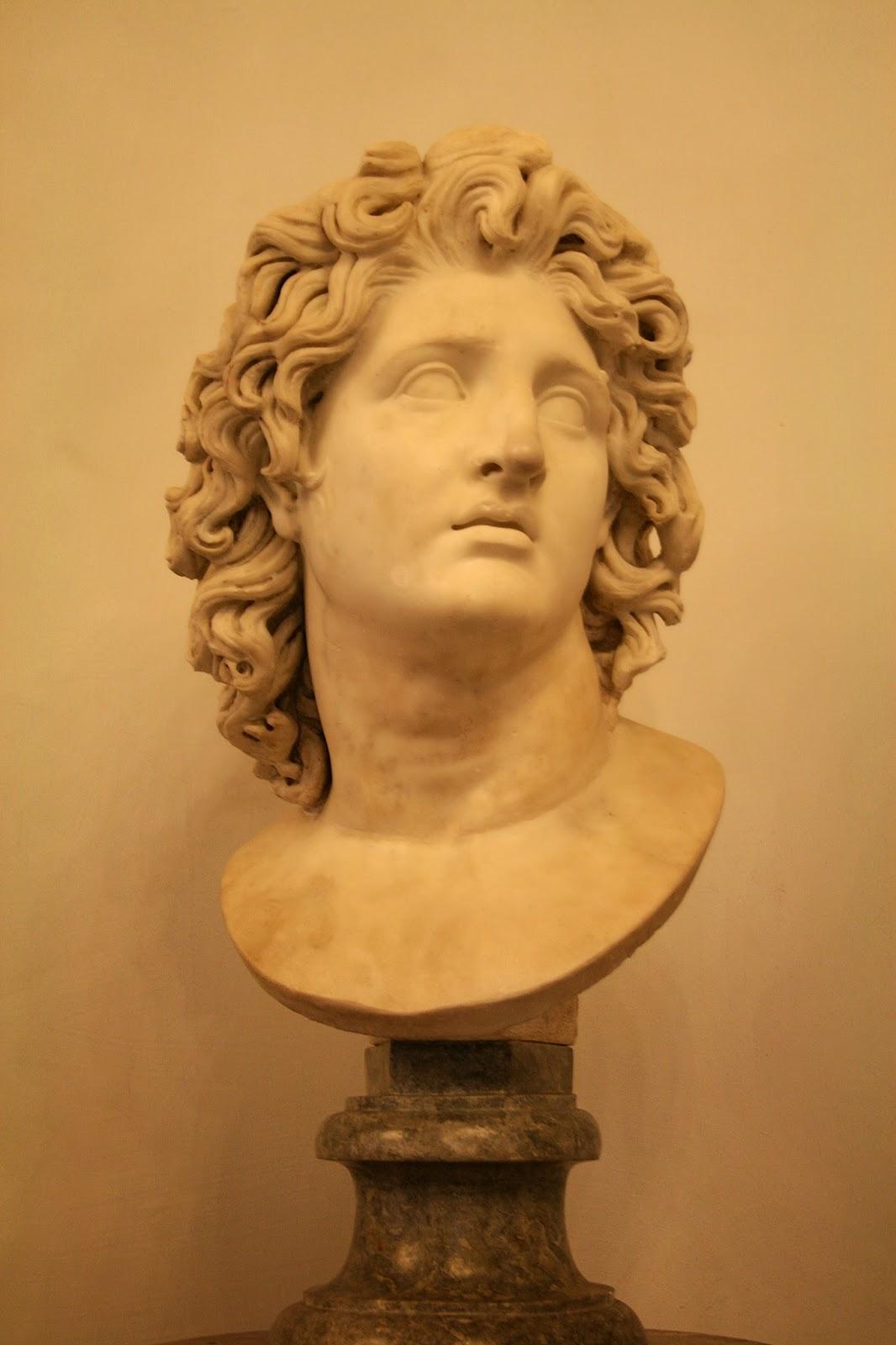 Прическа для древней греции