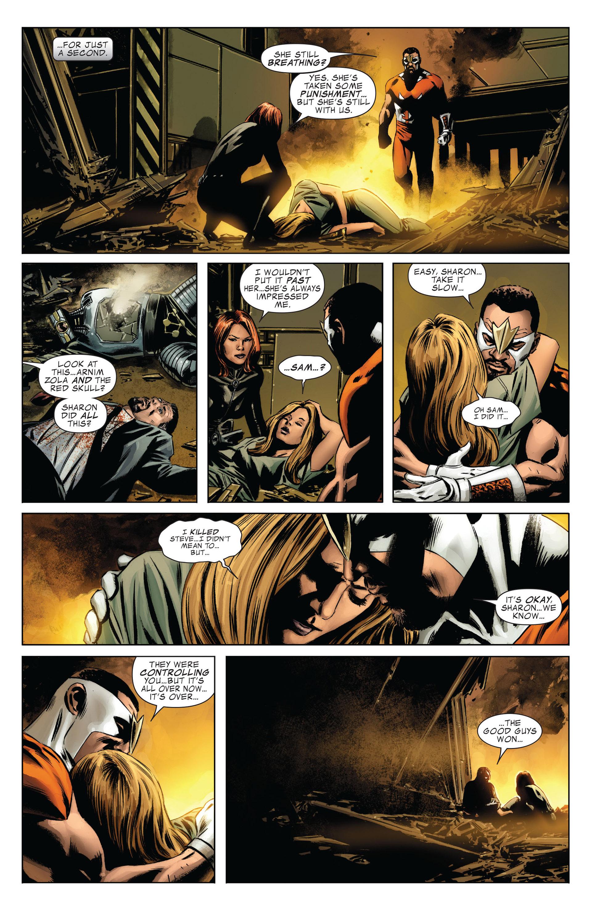 Captain America (2005) Issue #42 #42 - English 22