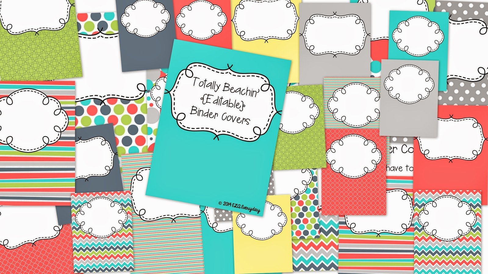 http://www.teacherspayteachers.com/Product/Totally-Beachin-Editable-Binder-Covers-1367649
