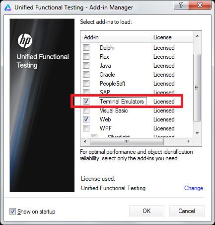 Terminal Emulator Addin
