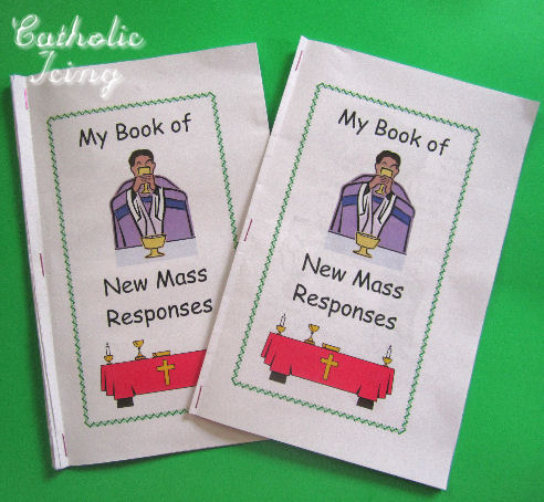 Catholic Icing: New Mass Responses Booklet for Kids- Free ...