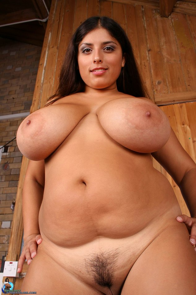 Fat big naked woman