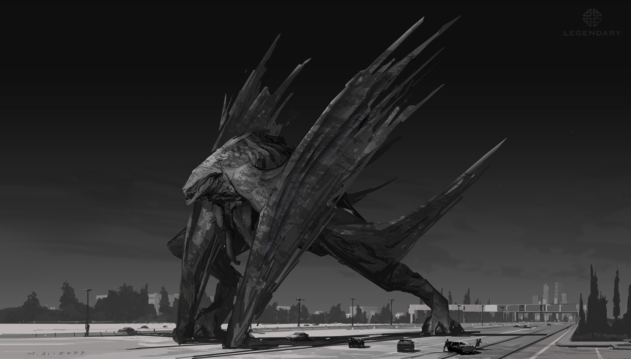 Unused Winged MUTO Concepts from Godzilla 2014! - Godzilla ...