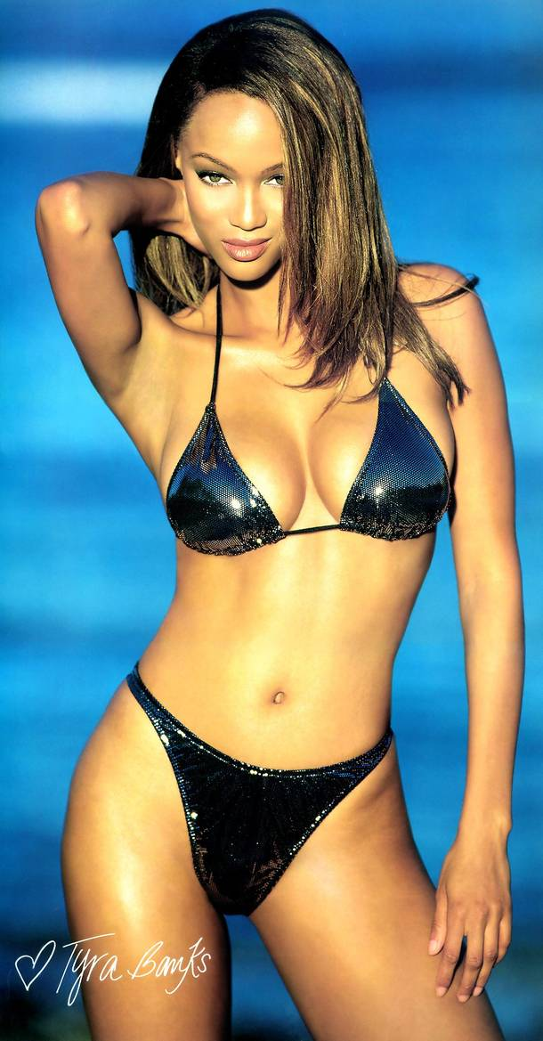 model tyra banks Black