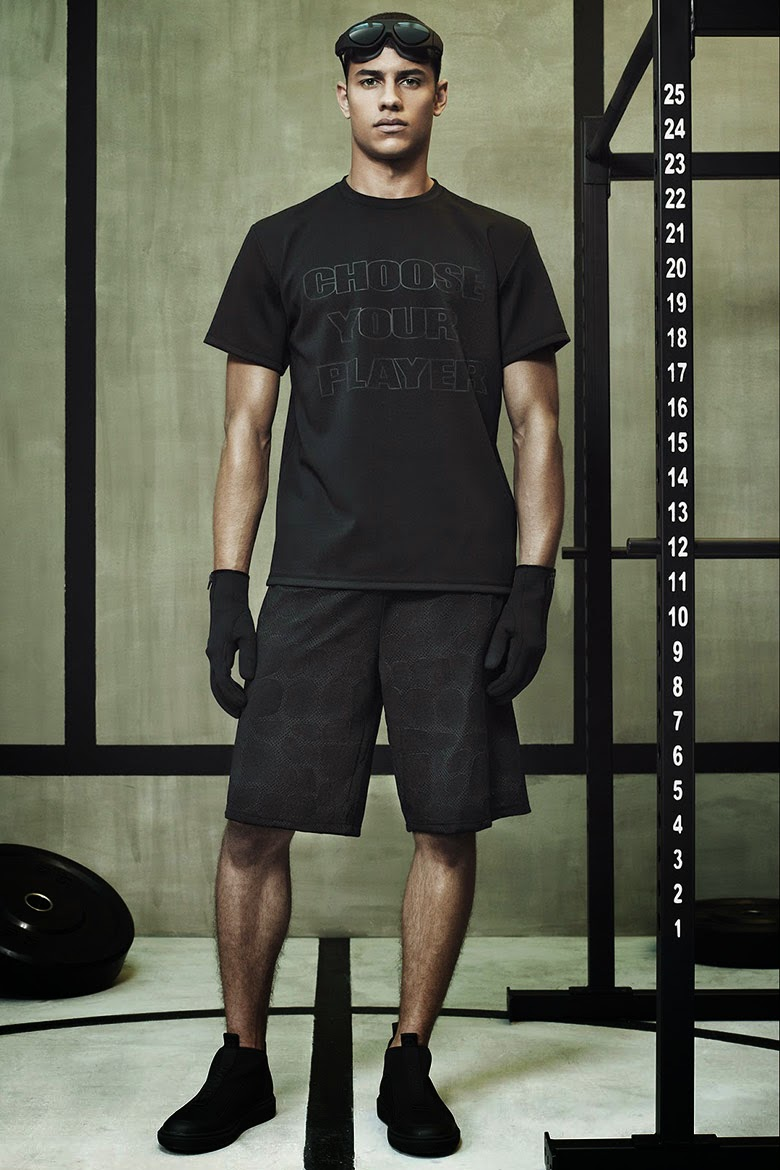 Collection Hommes Alexander Wang x H&M 2014 neoprene sportswear fashion NY