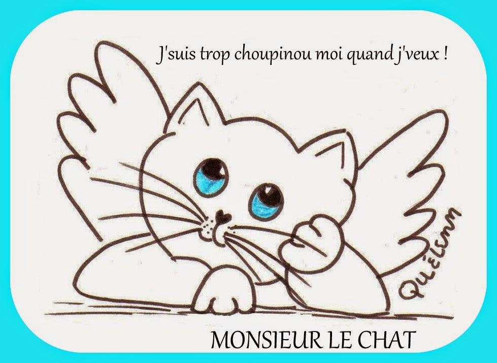dessin de Monsieur le chat,