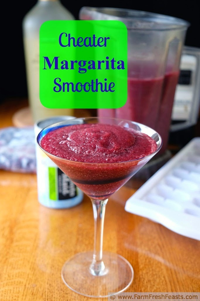 Cheater Margarita Smoothies, shared by Farm Fresh Feasts
