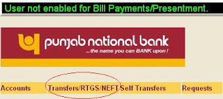 Enable Bill Payment