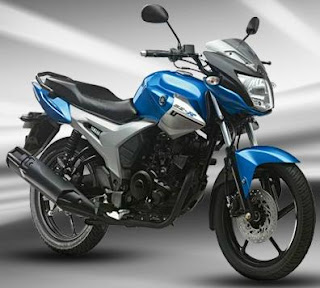 Yamaha SZR Blue color