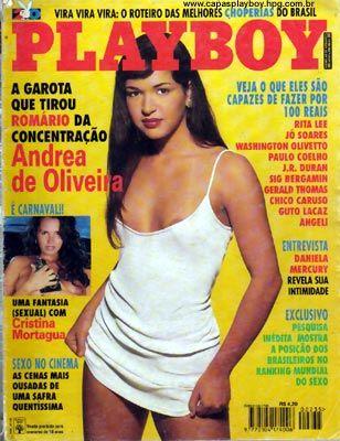 Andrea de Oliveira - Playboy 1995