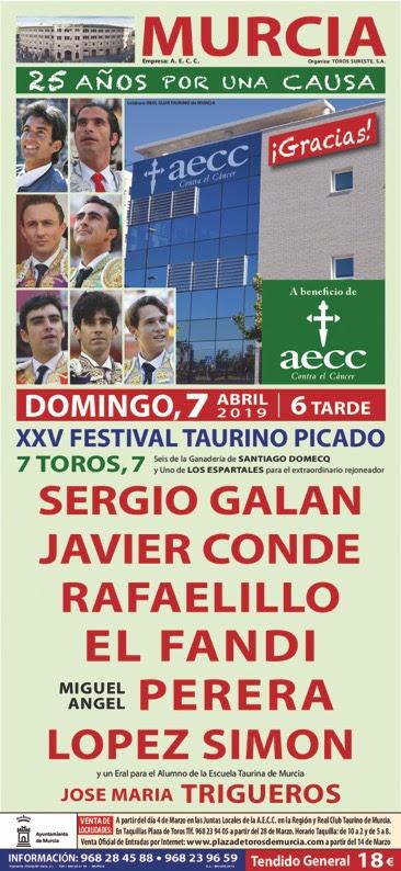 XXV FESTIVAL CONTRA EL CÁNCER