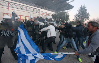 Σκληρά τα συνθήματα των αγροτών στην Θεσσαλονίκη - Δες το βίντεο και θα καταλάβεις...
