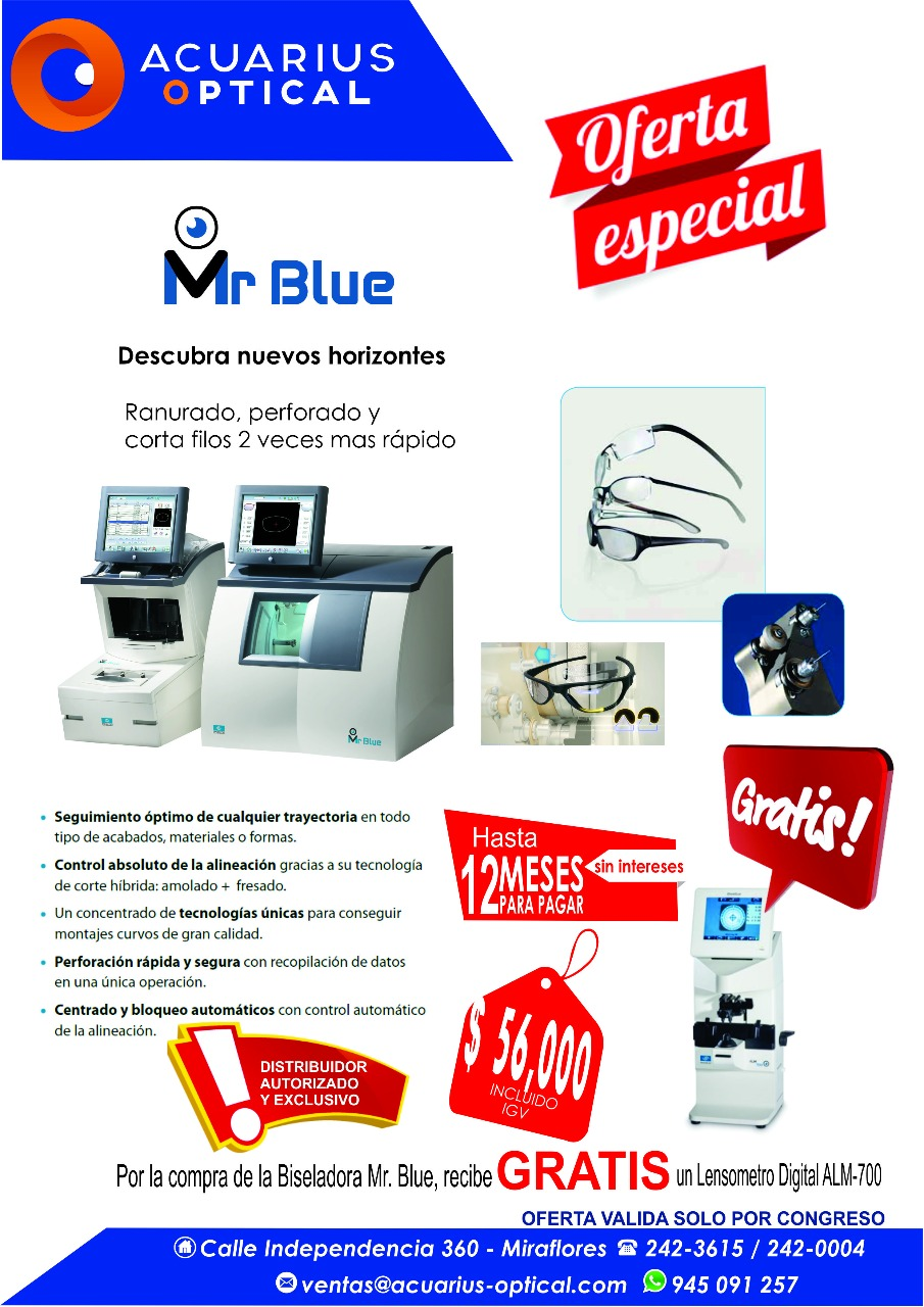 MR BLUE $ 56.00 HASTA 12 MESES PARA PAGAR