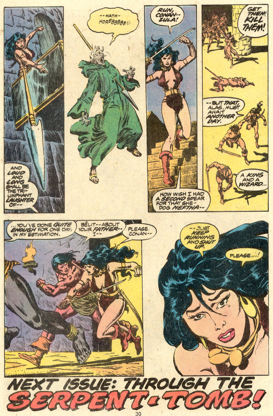 Conan the Barbarian (1970) Issue #88 #100 - English 18