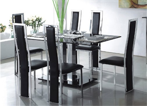 Outstanding Modern Glass Dining Table 505 x 364 · 39 kB · jpeg