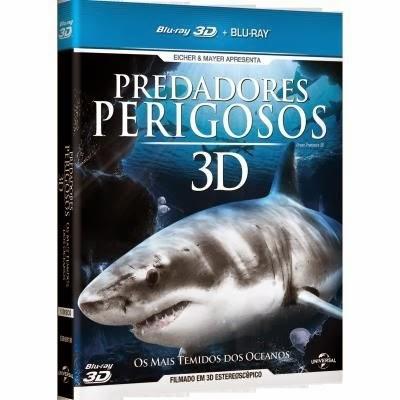 Predadores Perigosos Os Mais Temidos dos Oceanos BDRip XviD Dual Áudio 1