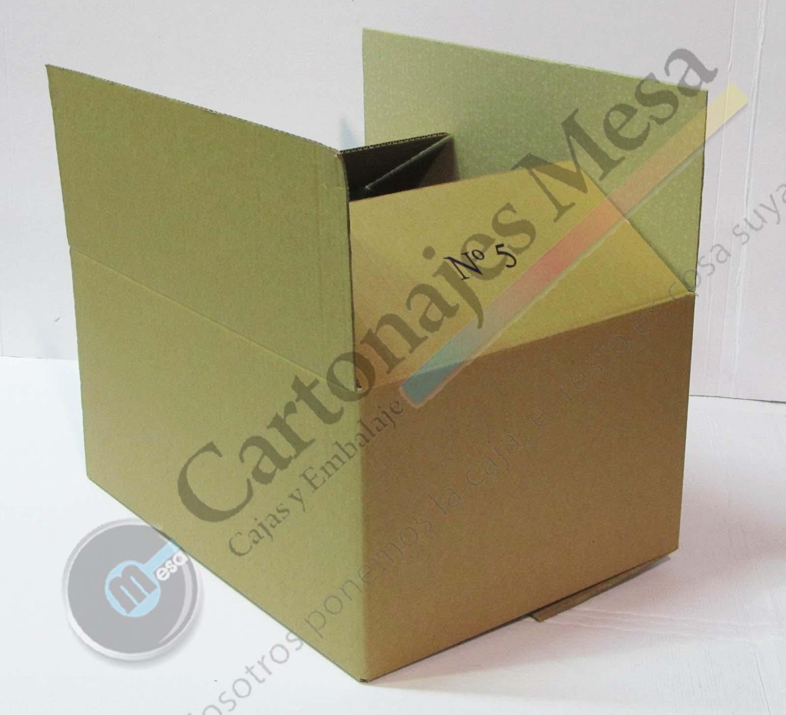 Cajas de embalaje y mudanzas cartonajes mesa for Cajas para mudanzas