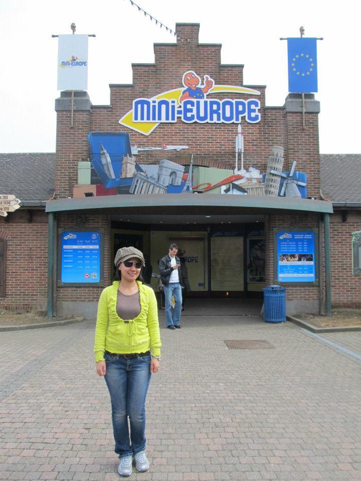 Atomium Mini-Europe Brussels Belgium