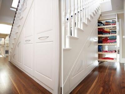 Ideas para utilizar el espacio debajo de las escaleras for Como decorar gradas