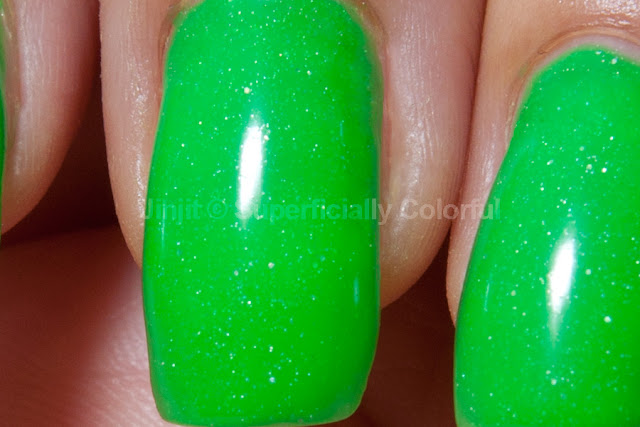 Shimmer Jelly Apple The Nail Junkie