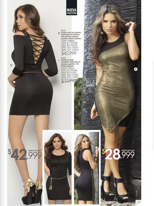 vestido corto y asimetrico moda 2015