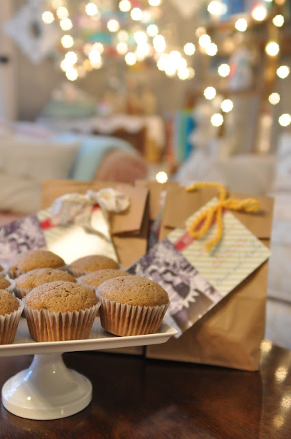 Domestic Fashionista Christmas Baked Goods Gift Wrapping