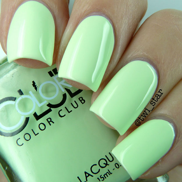Color Club Poptastic Pastel Neon Collection Til The Record Stops