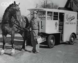 Hilltop Glimpses The Milk Cart