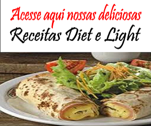 Receitas diet e Light