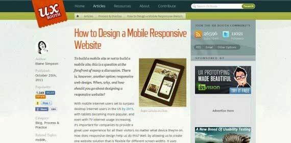 How to Design a Mobile Responsive Website