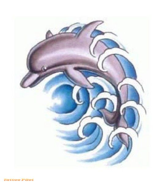 Dolphin heart tattoo designs all about for Dolphin tattoo designs