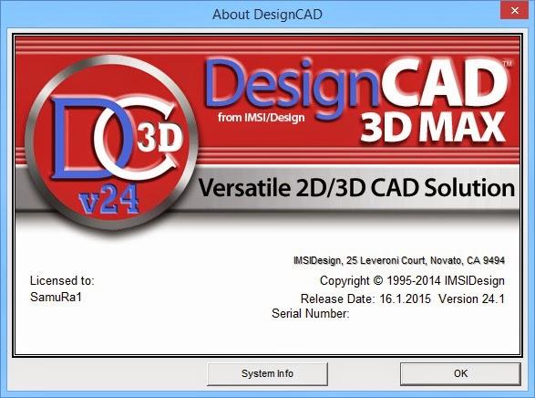 IMSI DesignCAD 3D Max 24.1 Full